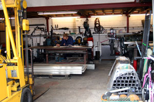 Mike Barnard - Steel Fabrication in Dunmow, Essex